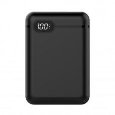 Banque de puissance portable 10000 mAh pour Lightning /USB-C et Micro USB Noir