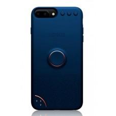 Coque amusante et interactive pour iPhone 6/7/8 Plus - Bleu