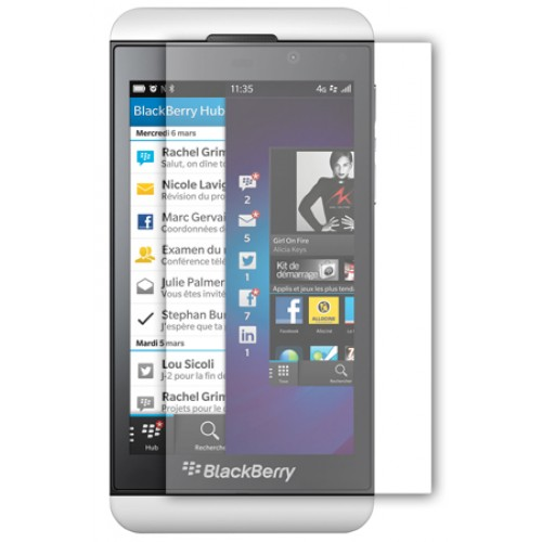 Cran protecteur pour blackberry z10 for Photo ecran blackberry