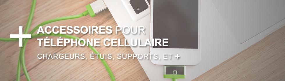 Accessoires pas cher pour téléphones cellulaires