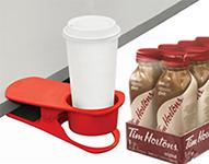 Porte-gobelet gratuit à l'achat de cappucino glacé Tim Hortons