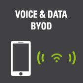Voix et data - BYOD