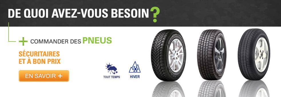 Ou trouvez des pneus