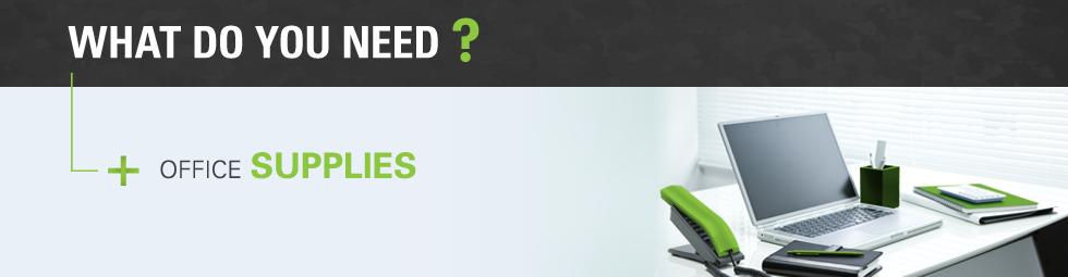 Commande en ligne de fournitures de bureau, produits d'entretien et équipement de sécurité